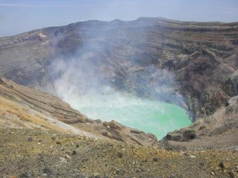 阿蘇中岳火山