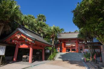 青島神社(JR 日南線 青島站)