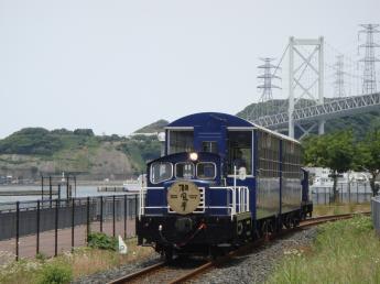 觀光手動列車潮風號