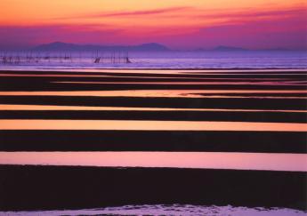 真玉海岸之夕陽