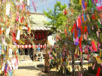 七夕神社的夏季祭祀