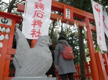 對夜哭有益處的雞石神社