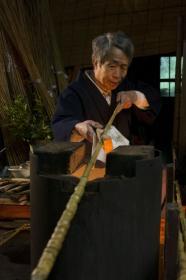 日本傳統高品質竹製釣竿